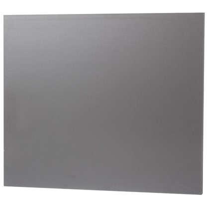 Дверь МФ 508x596x16 мм цвет графит