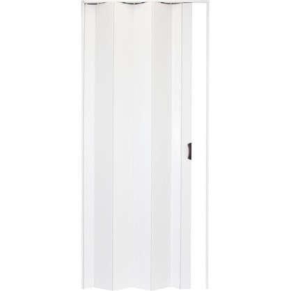 Дверь ПВХ Una 203х84 см цвет белый