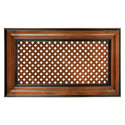 Дверь с решеткой для шкафа Прованс 60х35 см массив дерева цвет коричневый
