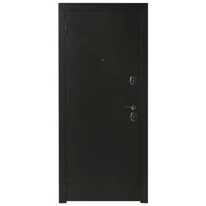 Дверь входная металлическая Гарда Муар 860 мм левая цвет венге тобакко