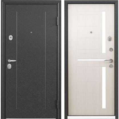 Дверь входная металлическая Контрол 2 950 мм правая цвет белый перламутр