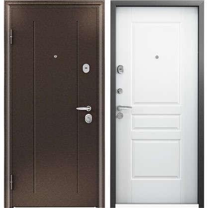 Дверь входная металлическая Контроль Хит 950 мм левая