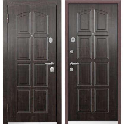 Дверь входная металлическая Уолл Стрит-М 950 мм левая