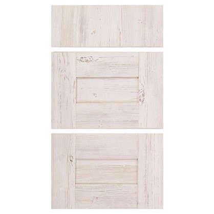 Двери для шкафа Delinia Фрейм светлый 40 см 3 ящика