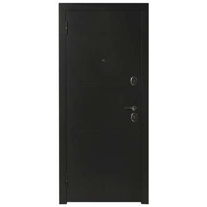 Дверная металлическая Гарда 7.5 муар 960 мм левая цвет дуб сонома