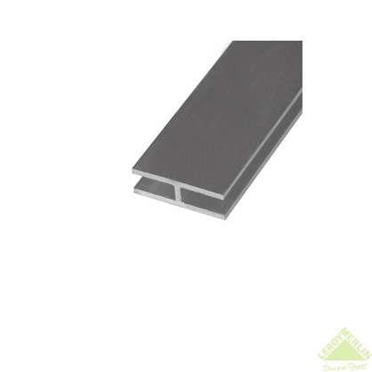 Двутавр алюминиевый 18х13х18х15 мм 1 м цвет серебро