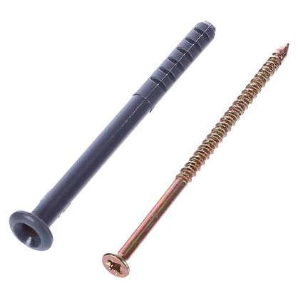 Дюбель-гвоздь потайной 6x80 мм полипропилен 10 шт.