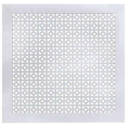 Экран для радиатора Дамаско 60х60 см цвет белый