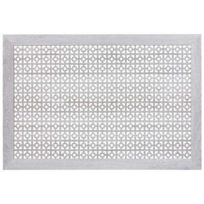 Экран для радиатора Дамаско 90х60 см цвет дуб серый