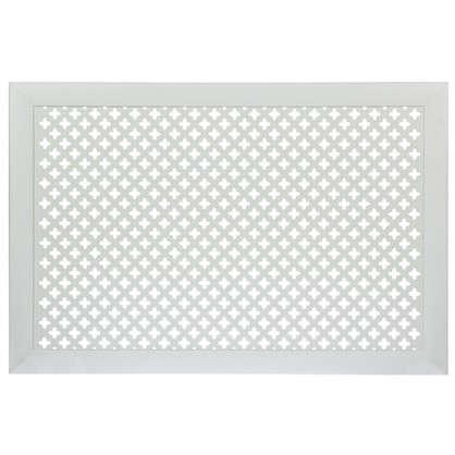 Экран для радиатора Готико 90х60 см цвет белый