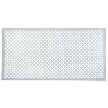 Экран для радиатора Лотос 60х120 см цвет белый