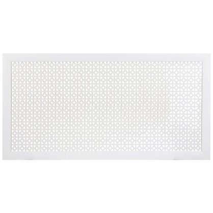 Экран для радиатора Сусанна 120х60 см цвет белый