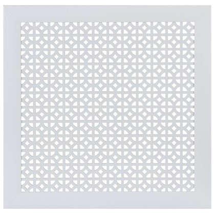Экран для радиатора Сусанна 60х60 см цвет белый