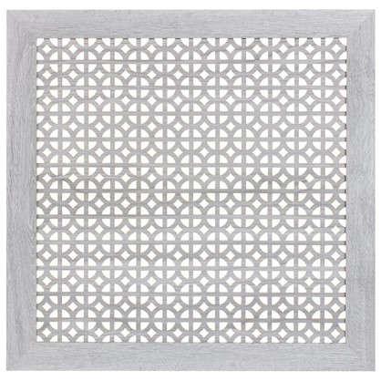 Экран для радиатора Сусанна 60х60 см цвет дуб серый