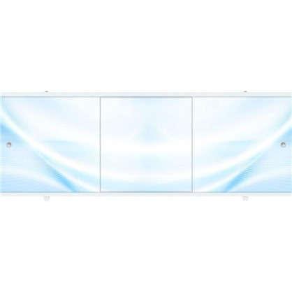 Экран под ванну Премиум А 148 см цвет голубой