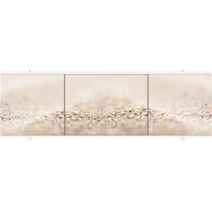 Экран под ванну Премиум Арт Теплый песок 1.68 м