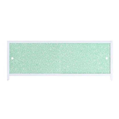 Экран под ванну Ультра лёгкий 168 см цвет зелёный иней