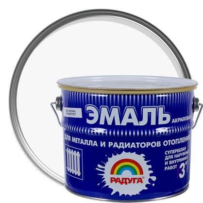 Эмаль акриловая для радиаторов белая Р-178 3 кг