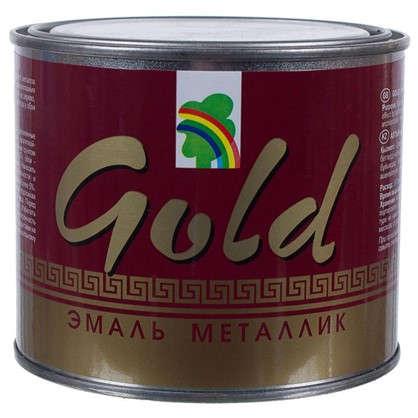 Эмаль акриловая золотой металлик Р-117 0.45 л