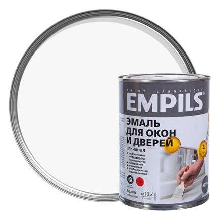 Эмаль для окон и дверей Empils PL цвет белый 0.9 кг