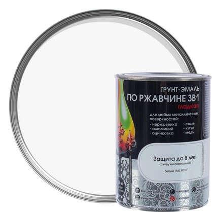 Эмаль гладкая Dali 3в1 цвет белый 0.8 кг