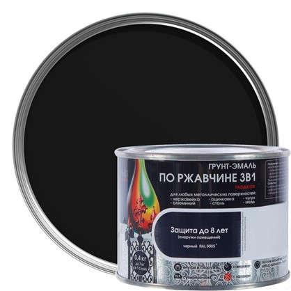 Эмаль гладкая Dali 3в1 цвет черный 0.4 кг