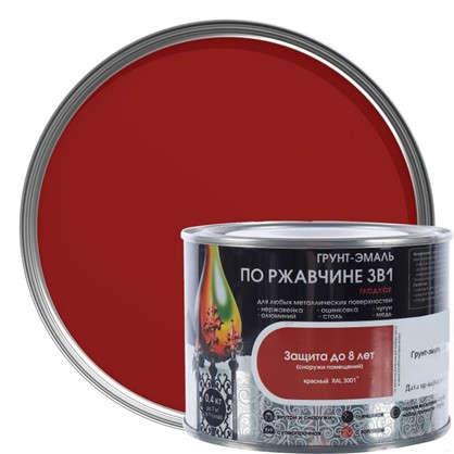 Эмаль гладкая Dali 3в1 цвет красный 0.4 кг