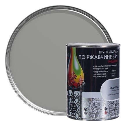 Эмаль гладкая Dali 3в1 цвет серебряный 0.8 кг