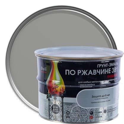 Эмаль гладкая Dali 3в1 цвет серебряный 2.5 кг