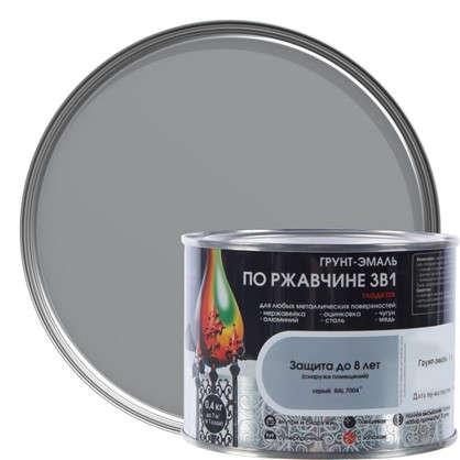 Эмаль гладкая Dali 3в1 цвет серый 0.4 кг
