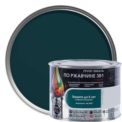 Эмаль гладкая Dali 3в1 цвет зеленый мох 0.4 кг