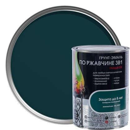 Эмаль гладкая Dali 3в1 цвет зеленый мох 0.8 кг