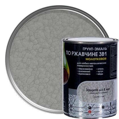 Эмаль молотковая Dali 3в1 цвет серебряный 0.8 кг
