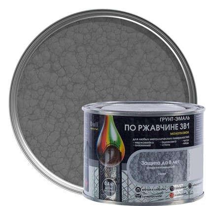 Эмаль молотковая Dali 3в1 цвет серый 0.4 кг