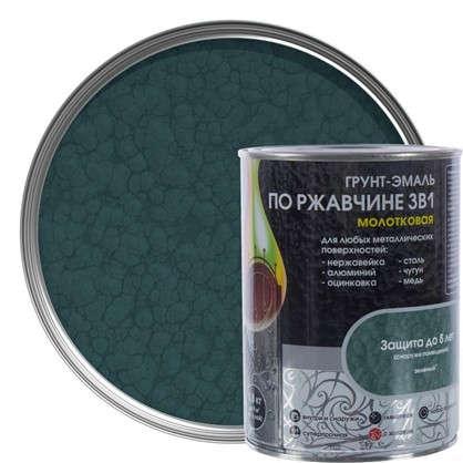 Эмаль молотковая Dali 3в1 цвет зеленый 0.8 кг