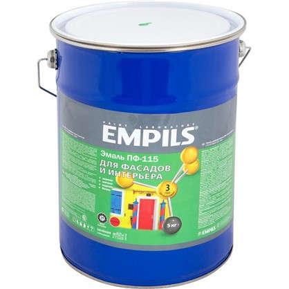 Эмаль ПФ-115 Empils PL 5 кг цвет зеленый