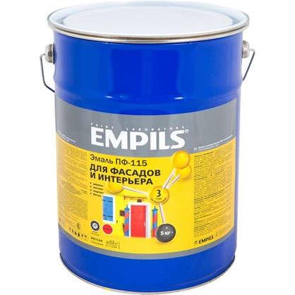 Эмаль ПФ-115 Empils PL 5 кг цвет желтый