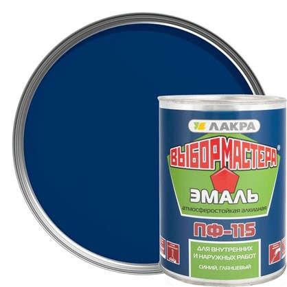 Эмаль ПФ-115 Выбор Мастера цвет синий 0.9 кг