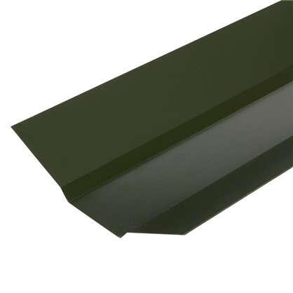 Ендова внешняя с полиэстеровым покрытием 2 м цвет зелёный