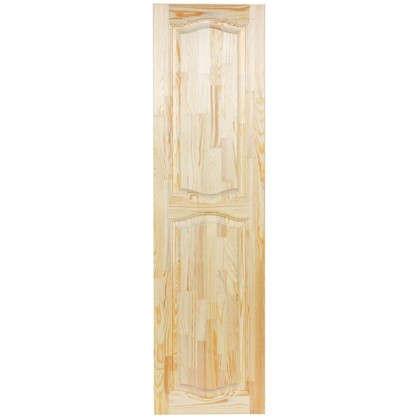 Фасад шкафа 1500х396x18 мм фигурный хвоя