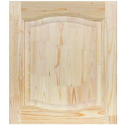Фасад шкафа 570х496х18 мм фигурный глухой хвоя