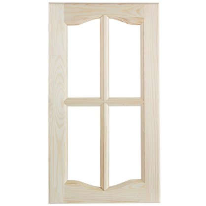 Фасад шкафа 716х396х18 мм стекло