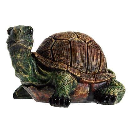 Садовая фигура Черепаха с хвостом высота 18 см