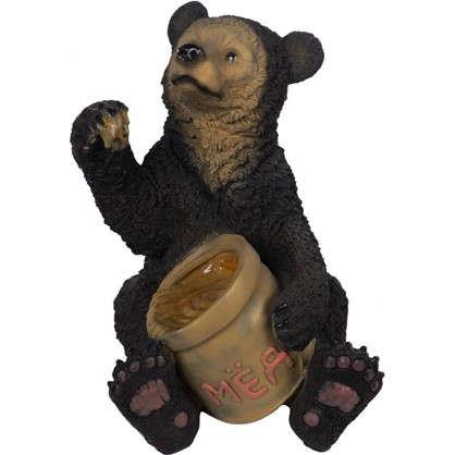 Садовая фигура Медведь с мёдом высота 51 см