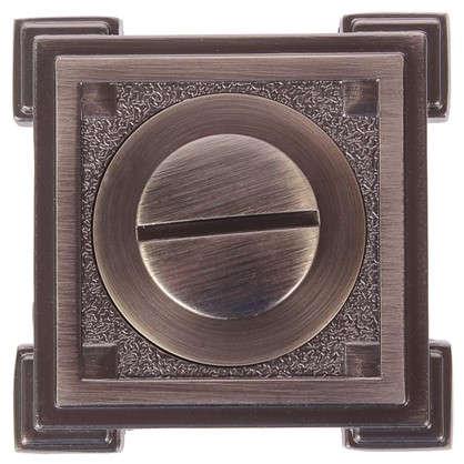Фиксатор-вертушка для дверей цвет бронзовый