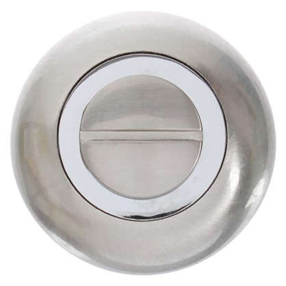 Фиксатор-вертушка для дверей Inspire круглый цвет никель