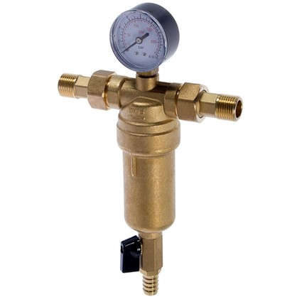 Фильтр механической очистки Euros для горячей воды 100 мкм