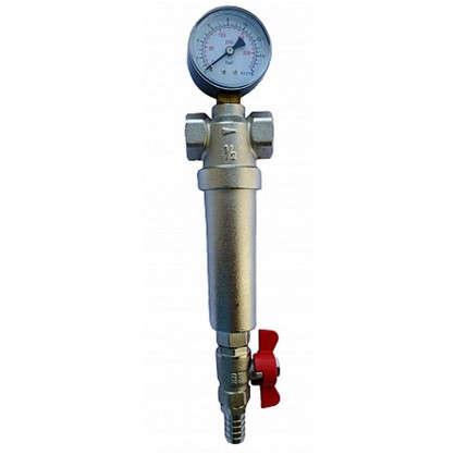 Фильтр механической очистки Euros для холодной и горячей воды 3/4 дюйма 300 мкм
