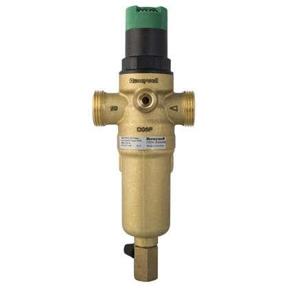 Фильтр механической очистки Honeywell для горячего водоснабжения с клапаном пониженного давления 100 мкм 3/4 дюйма