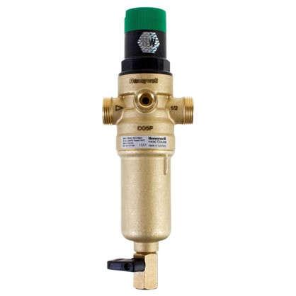 Фильтр механической очистки Honeywell для горячей воды с клапаном пониженного давления 1/2 дюйма 100 мкм